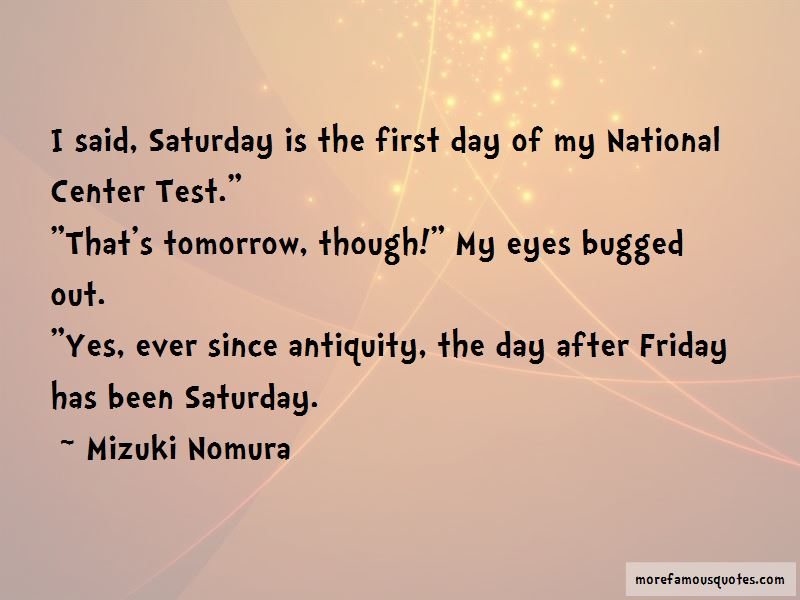 Friday Tomorrow Quotes Pictures 3