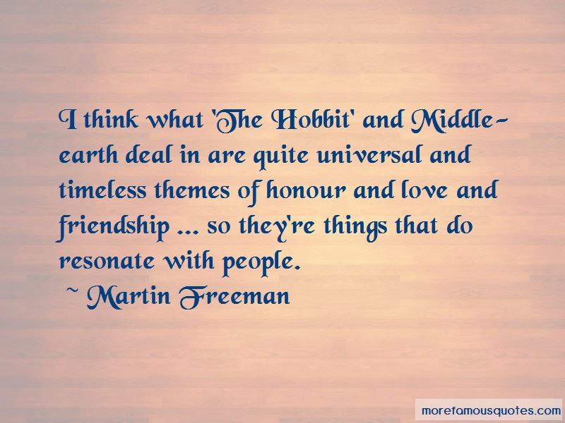 Quotes About Friendship From The Hobbit
