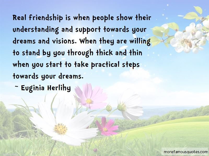 Friendship Through Thick And Thin Quotes Pictures 2