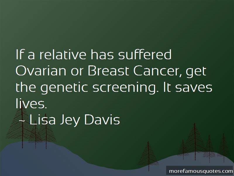 Quotes About Genetic Screening