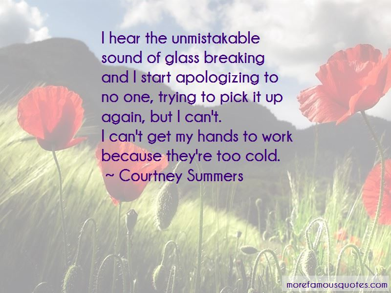 Quotes About Glass Breaking