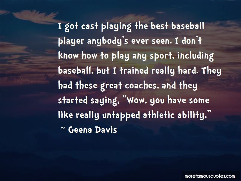 Quotes About Great Baseball Coaches