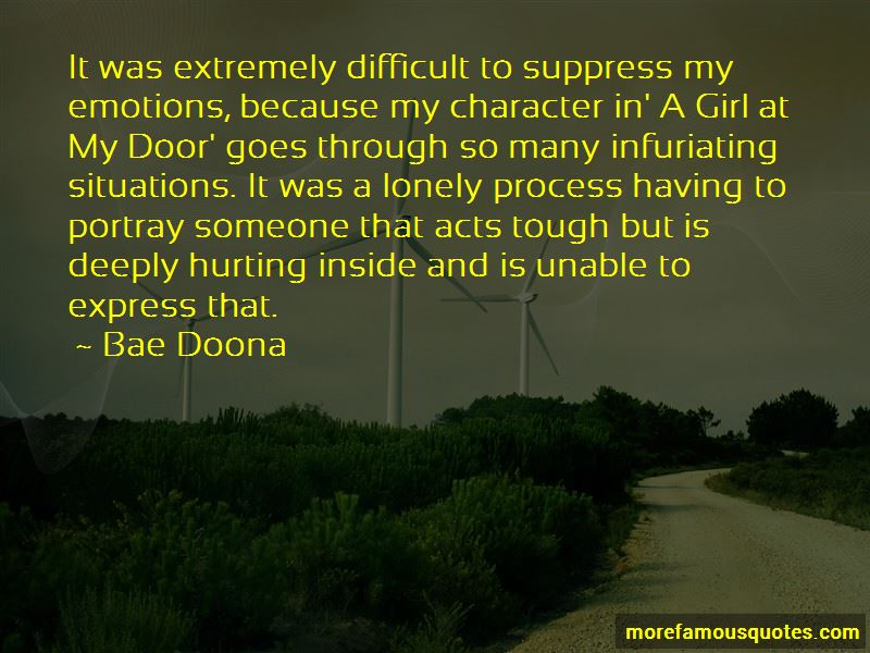 Quotes About Hurting Inside