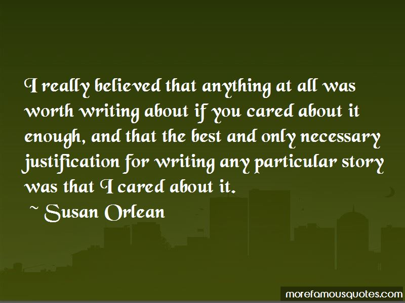 Quotes About If You Cared