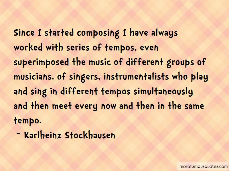 Quotes About Instrumentalists