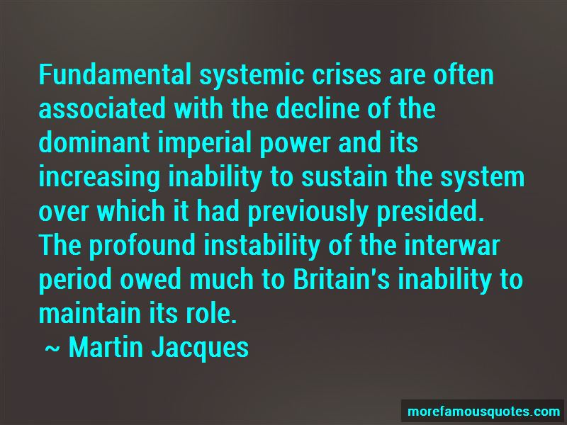 Quotes About Interwar Period