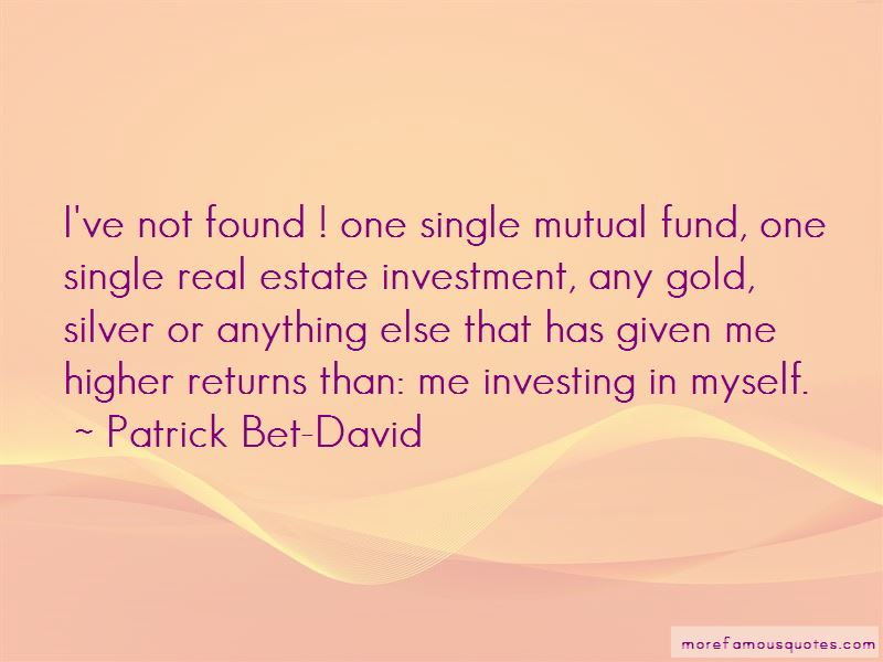 Quotes About Investing In Gold