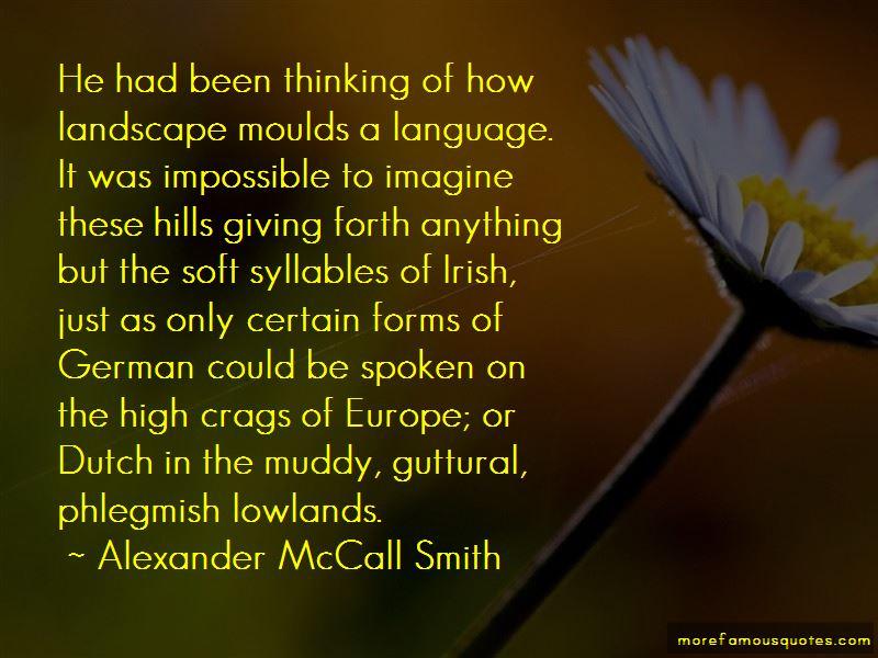 Quotes About Irish Landscape