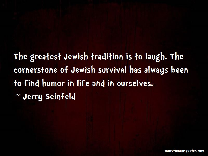 Quotes About Jewish Survival