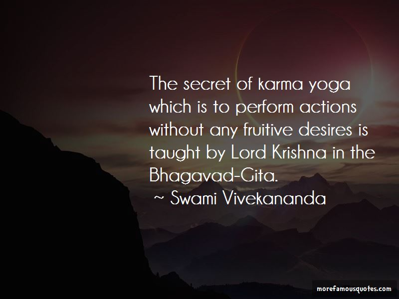 Karma Yoga Quotes Pictures 2