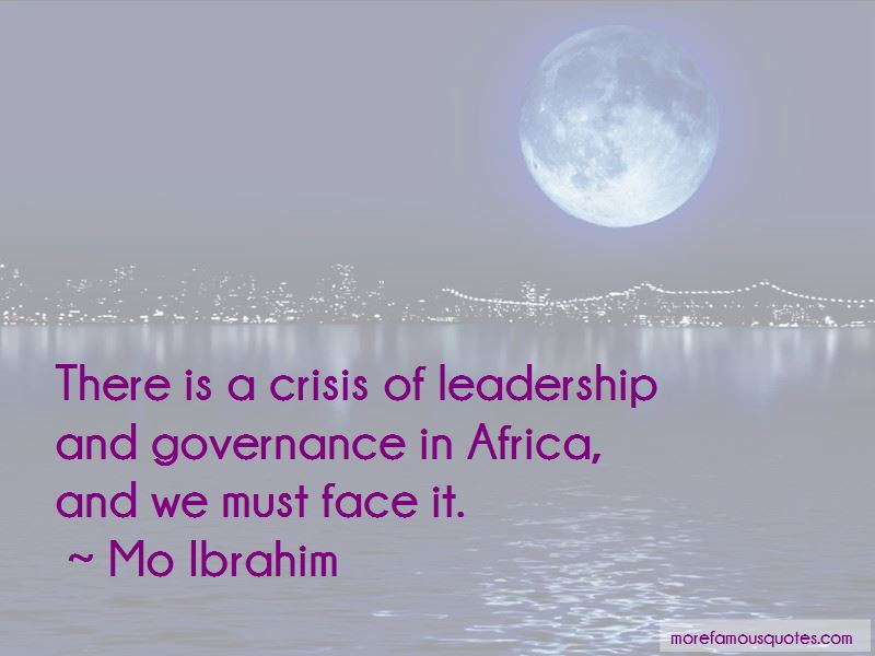 Quotes About Leadership And Governance