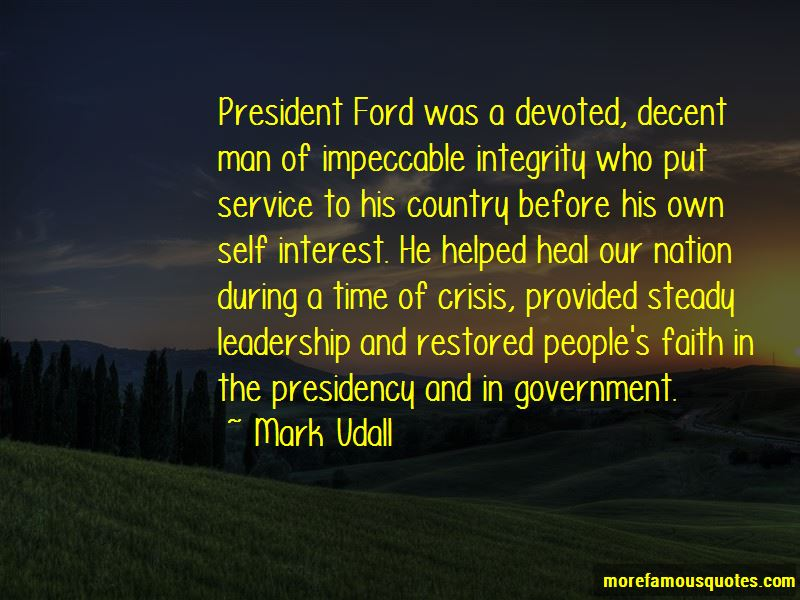 Quotes About Leadership During Crisis