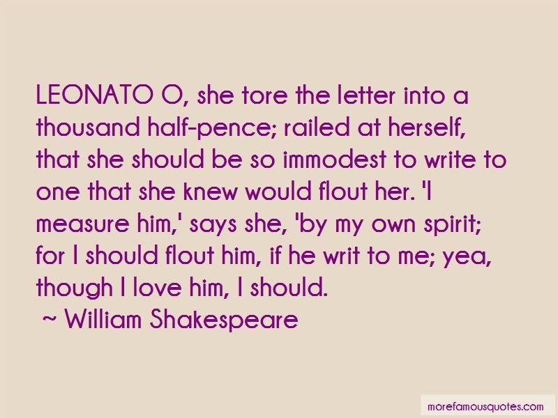 Quotes About Leonato