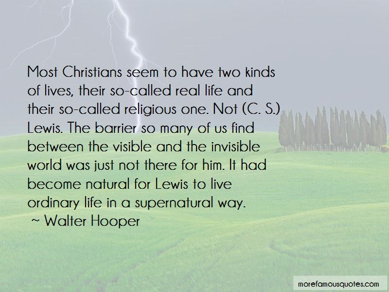 Quotes About Life C.s. Lewis