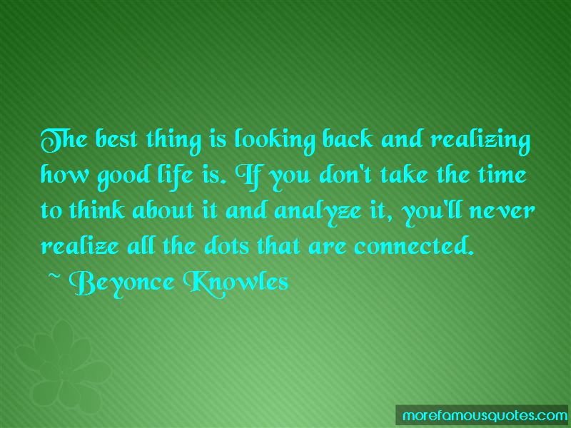 Quotes About Looking Back And Realizing