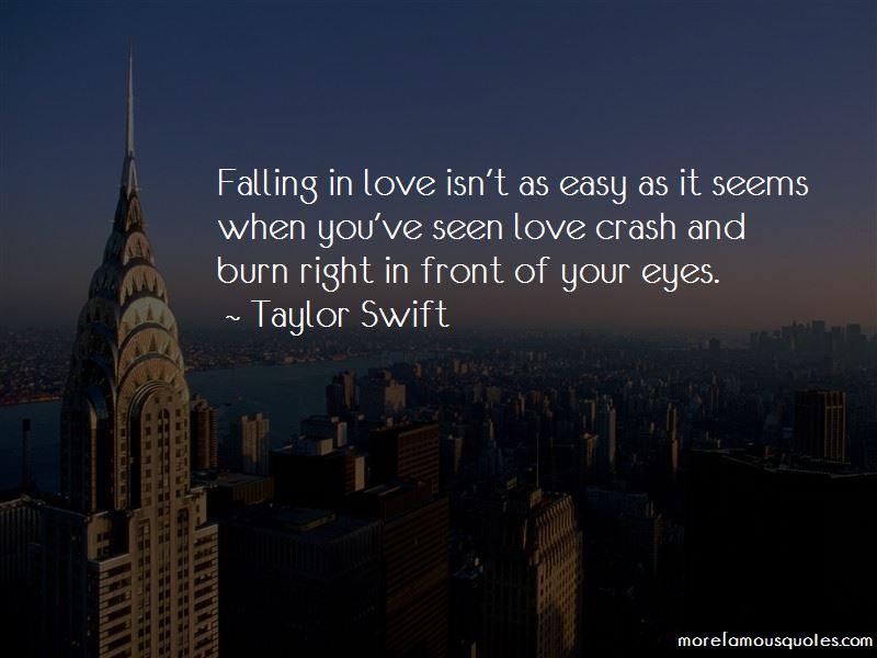 Quotes About Love Crash