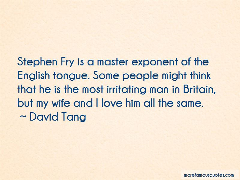 Quotes About Love Stephen Fry