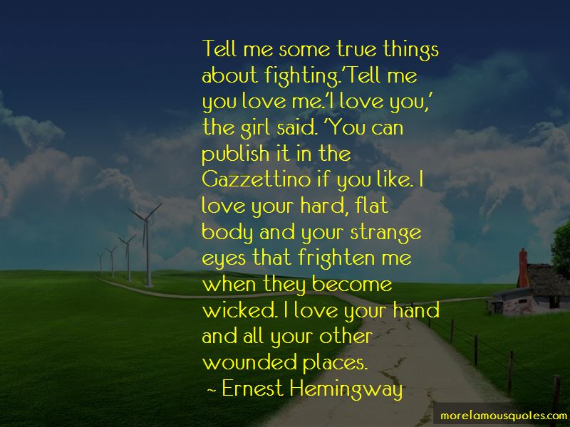 Quotes About Love When Your Fighting