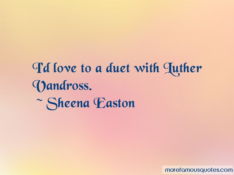 Quotes About Luther Vandross