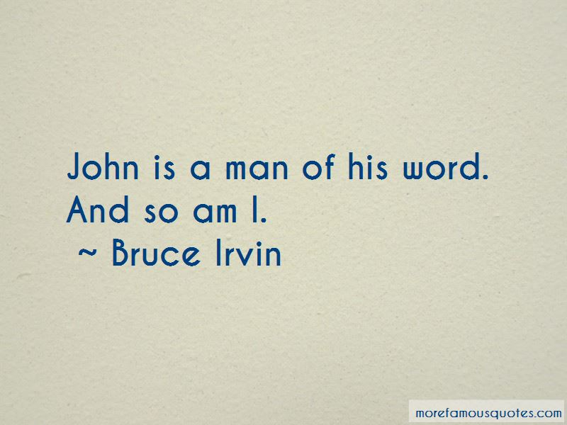 Man Of His Word Quotes Pictures 2