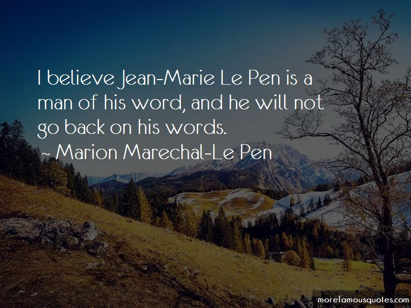 Man Of His Word Quotes Pictures 4