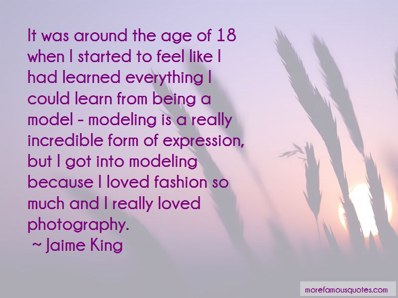 Quotes About Modeling And Photography: top 3 Modeling And ...