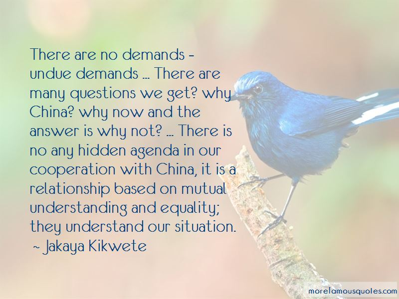 Quotes About Mutual Understanding In A Relationship