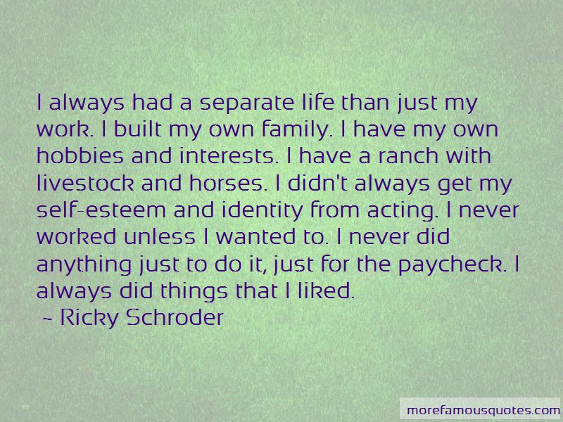 Quotes About My Own Family