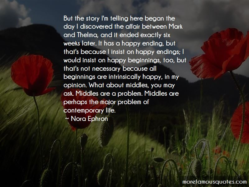 Quotes About Necessary Endings