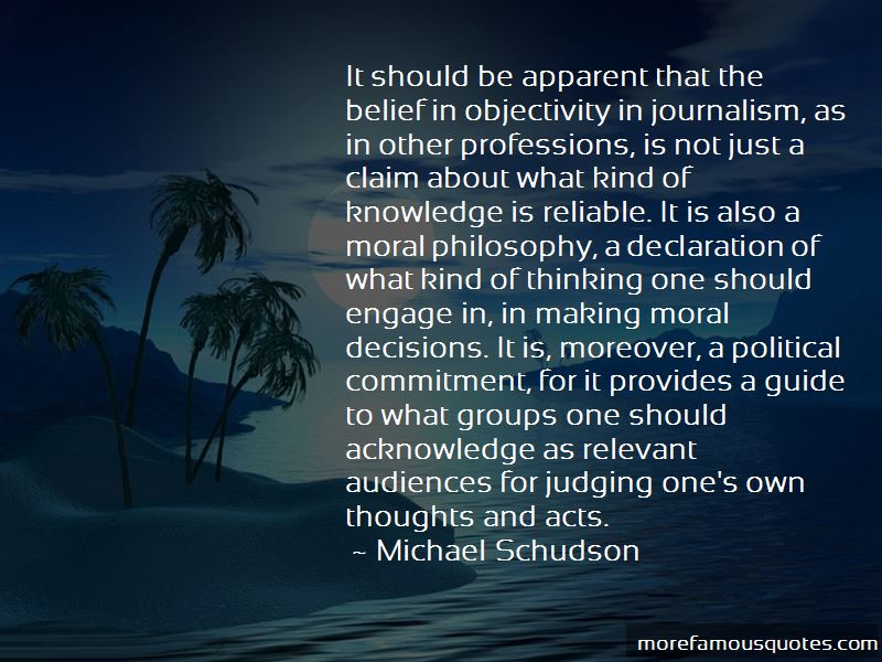 Quotes About Objectivity In Journalism