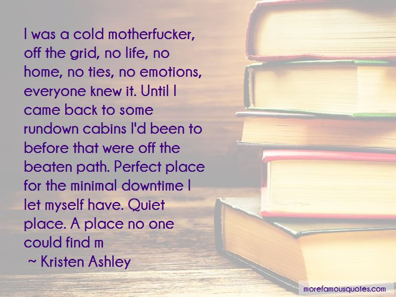 Quotes About Off The Beaten Path