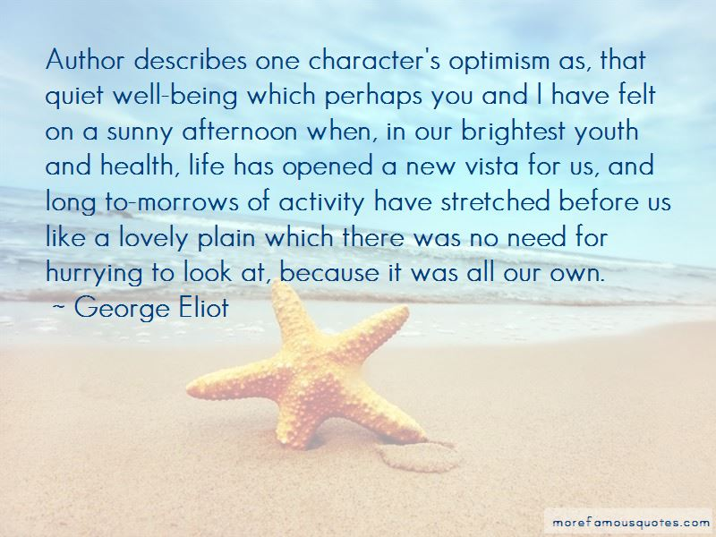 Optimism And Health Quotes Pictures 2