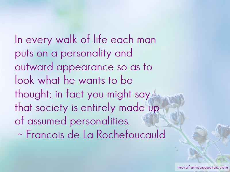 Quotes About Outward Appearance