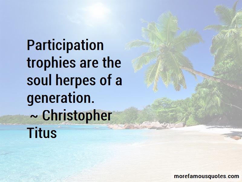 Quotes About Participation Trophies