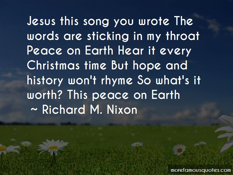 Quotes About Peace On Earth Christmas