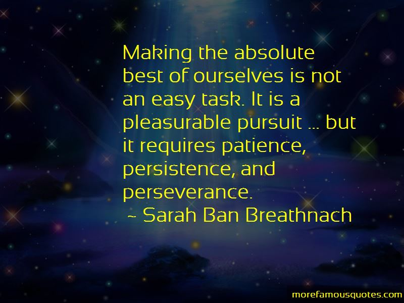 Quotes About Persistence And Perseverance