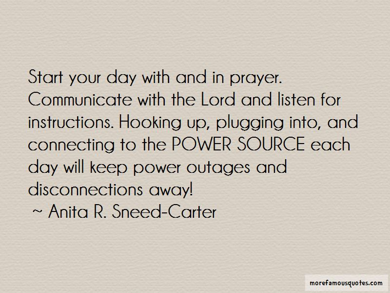 Quotes About Power Outages