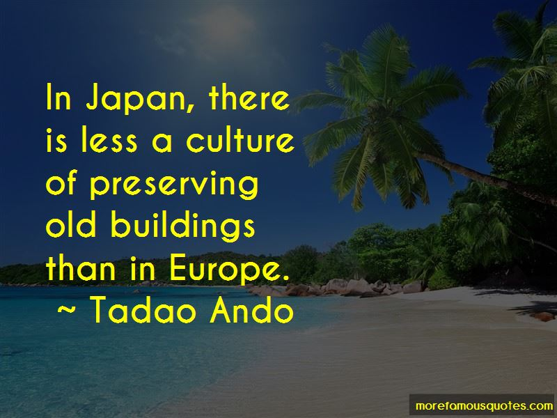 Quotes About Preserving Old Buildings