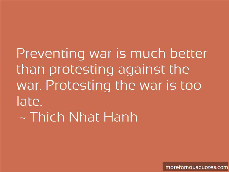 Preventing War Quotes Pictures 2
