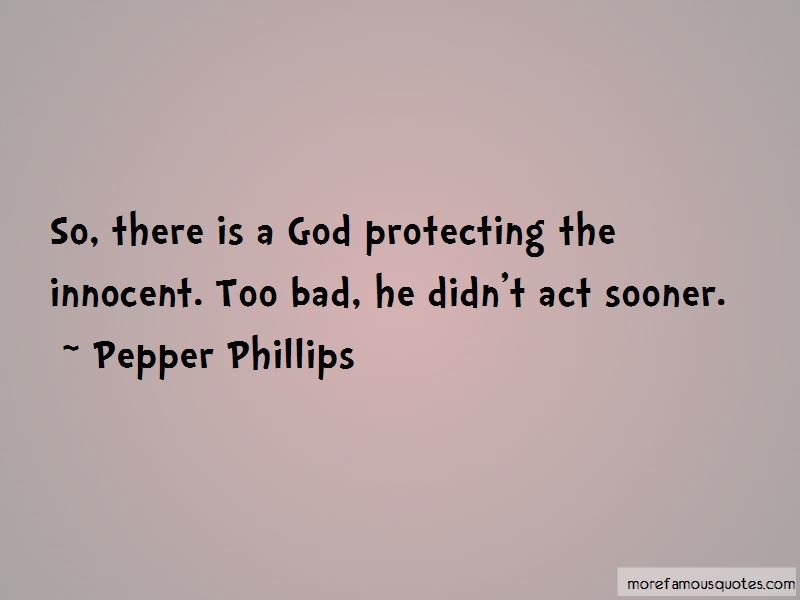 Quotes About Protecting The Innocent