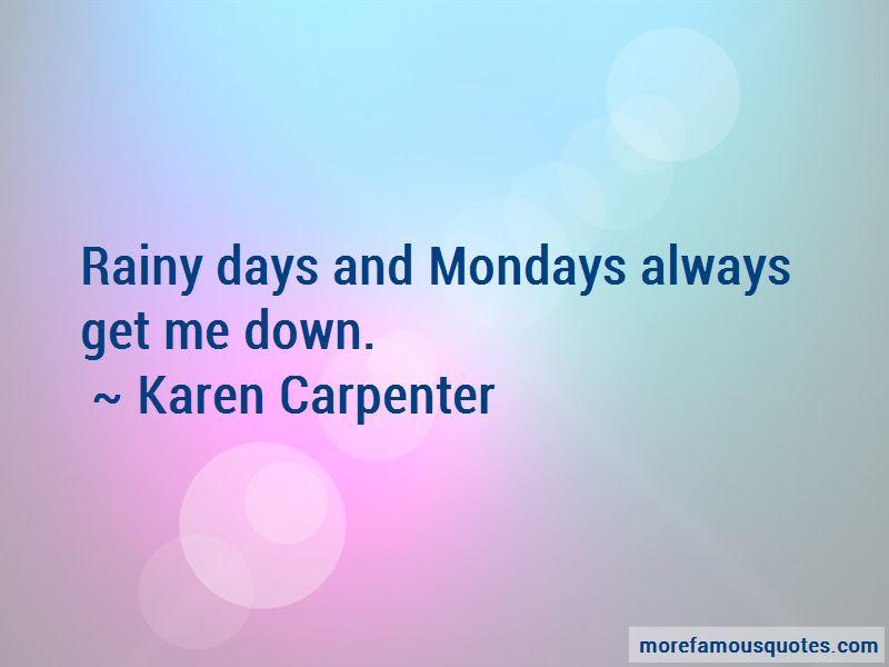 Quotes About Rainy Mondays
