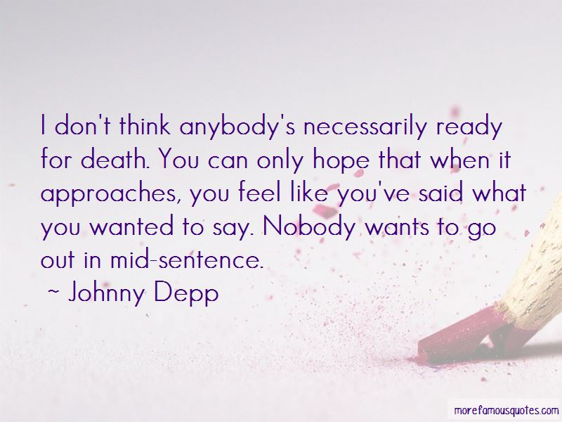 Ready For Death Quotes Pictures 3