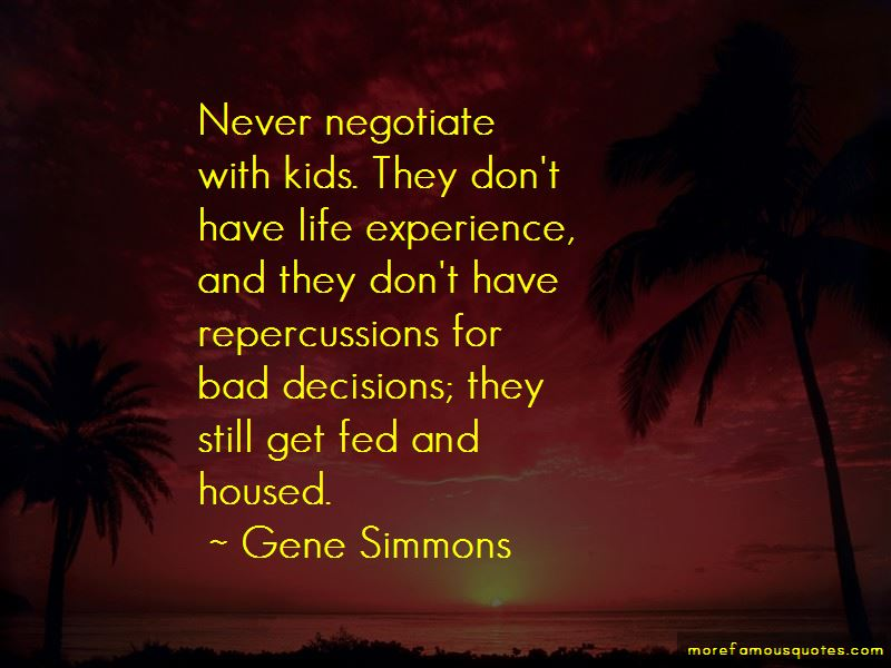 Quotes About Repercussions