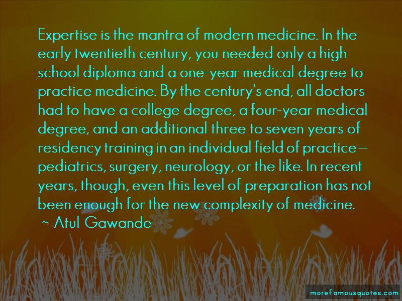 Quotes About Residency Training