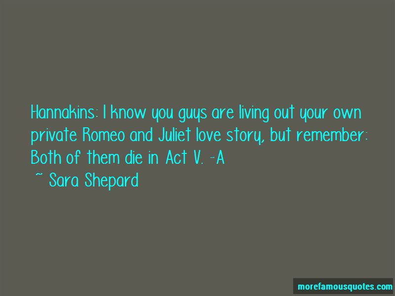 Quotes About Romeo And Juliet Love