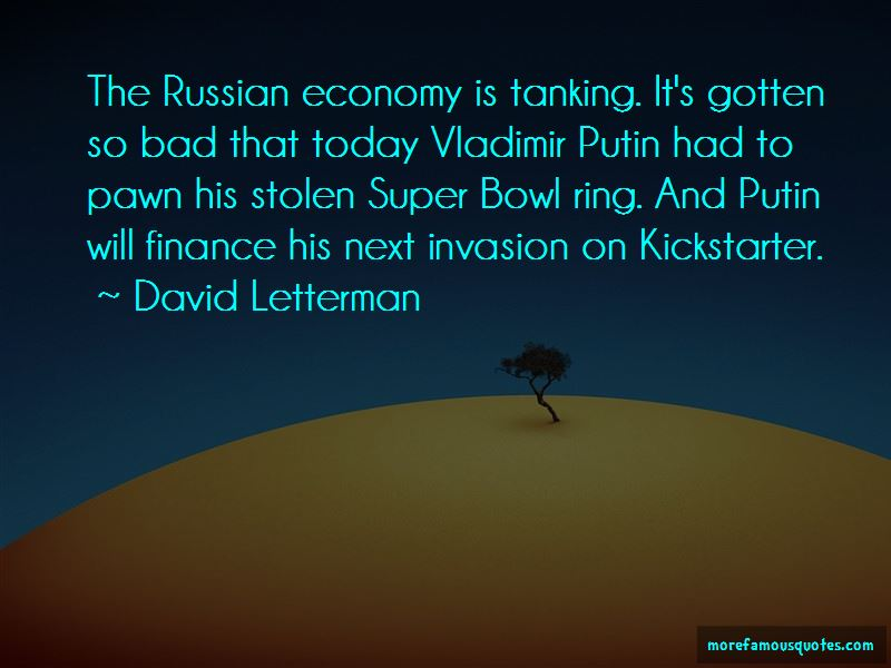 Quotes About Russian Economy
