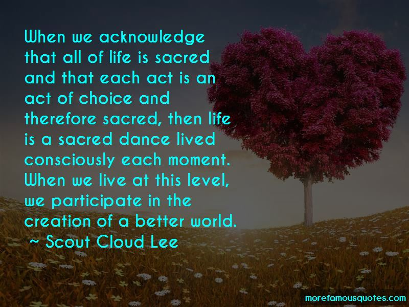 Quotes About Sacred Dance