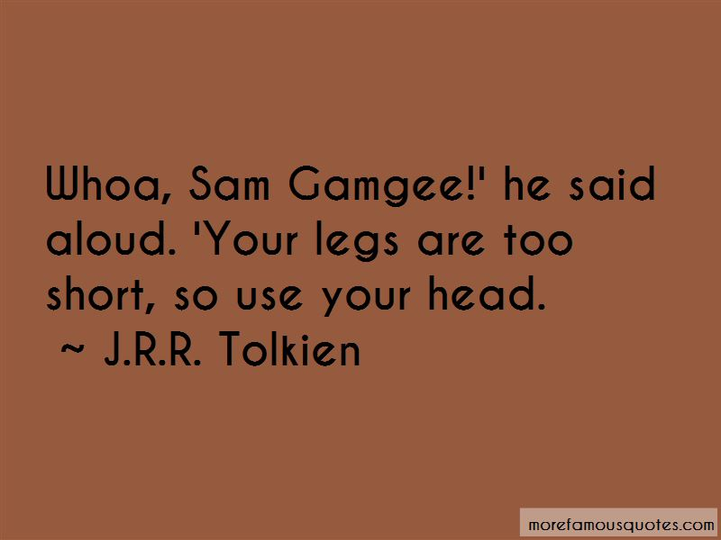 Quotes About Sam Gamgee