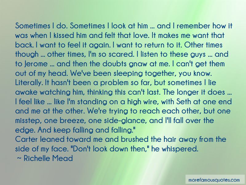 Quotes About Scared To Fall In Love Again
