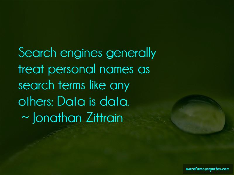 Quotes About Search Engines